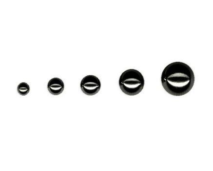 Fekete, menetes acélgolyók 1.6 mm-es szárra BK-STBall
