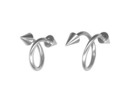 Csavart piercing tüskével - spirál, twister - 1.6 mm BTSN
