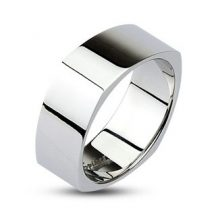 Négyszögletes profilú nemesacélgyűrű HR-0001M