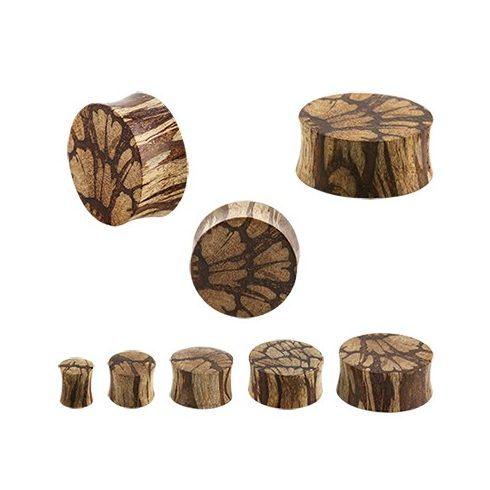 Batikfa fültágító dugó - plug OBWPL-L