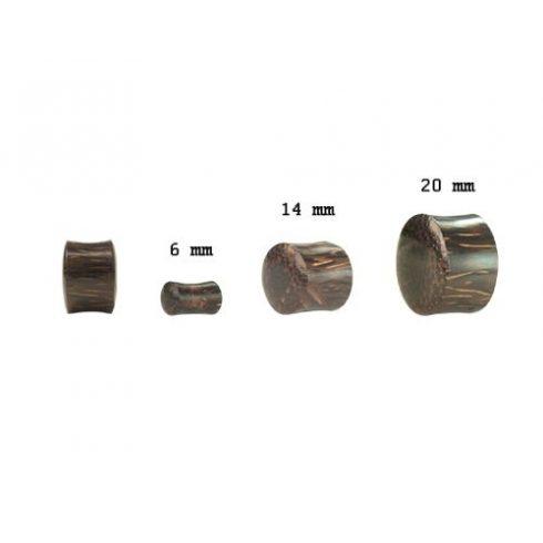 Pálmafa fültágító dugó - plug OPWPL-S