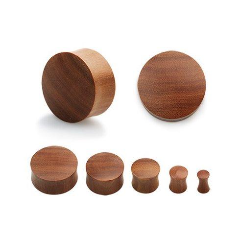 Wood Plug - Sawo Wood OSWPL-M - Hallmark Piercing and Jewellery