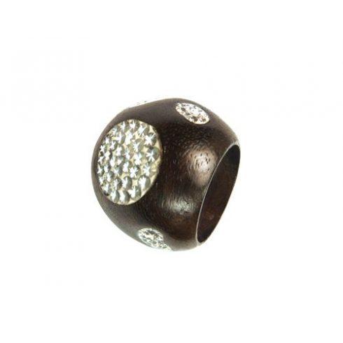 Fagyűrű Swarovski kristályokkal OWORI-03