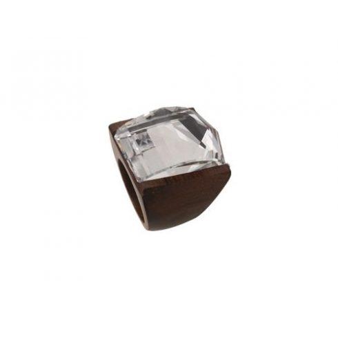 Swarovski kristályos exkluzív fagyűrű OWORI-06CST