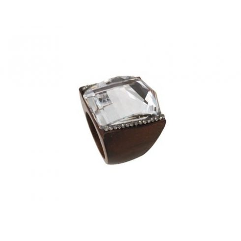 Swarovski kristályos elegáns fagyűrű OWORI-07CST