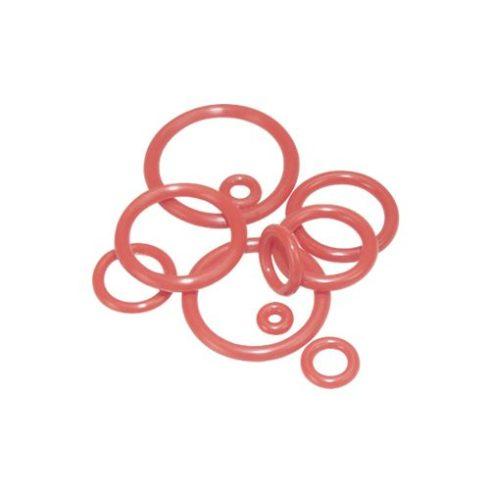 Szilikongumi-gyűrű - piros S-RINGR