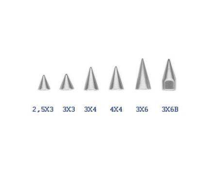 Acélkúpok 1.2 mm-es menettel ST-Cone