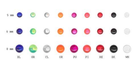 UV akrilgolyók UV-Ball